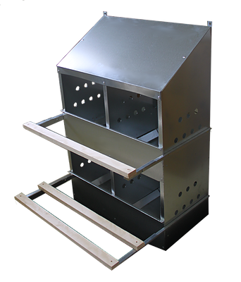 conventional nests poultry