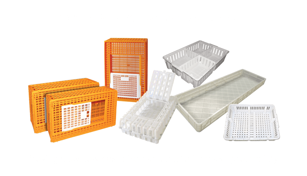 poultry transportation and storage materials