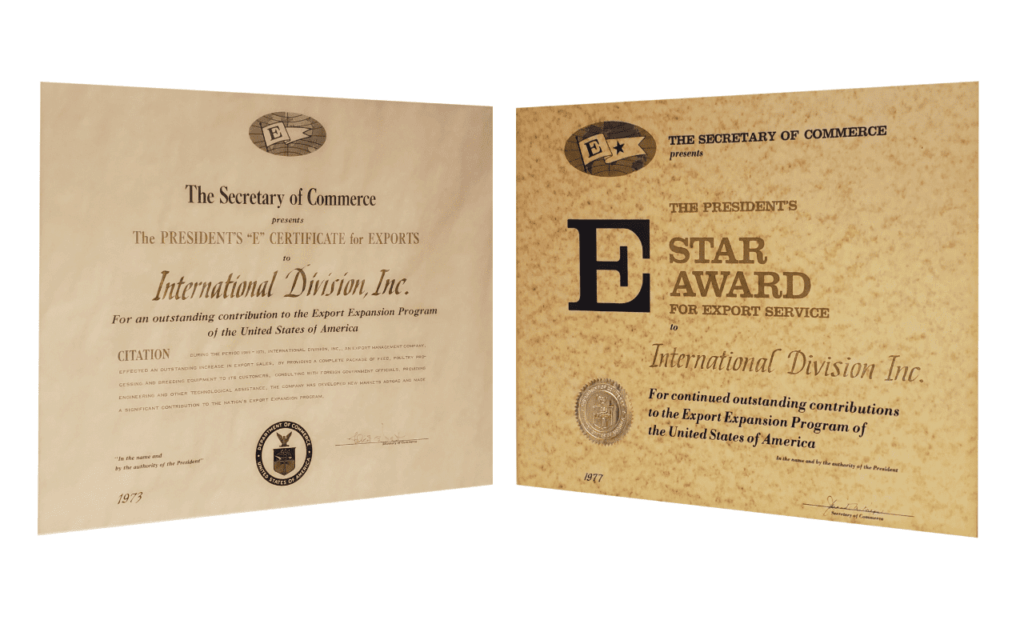 Presidential E Awards